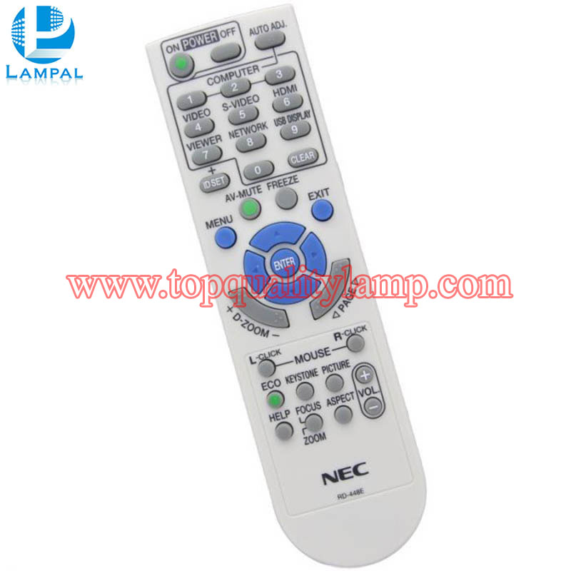 NEC NP-M271X Replacement Projector Remote Control